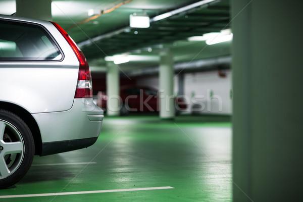 Ondergrondse business weg stad teken stedelijke Stockfoto © lightpoet