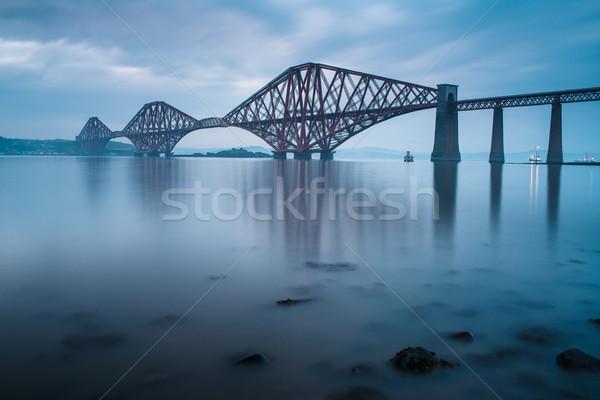 Foto stock: Pontes · Edimburgo · escócia · edifício · mar · ponte