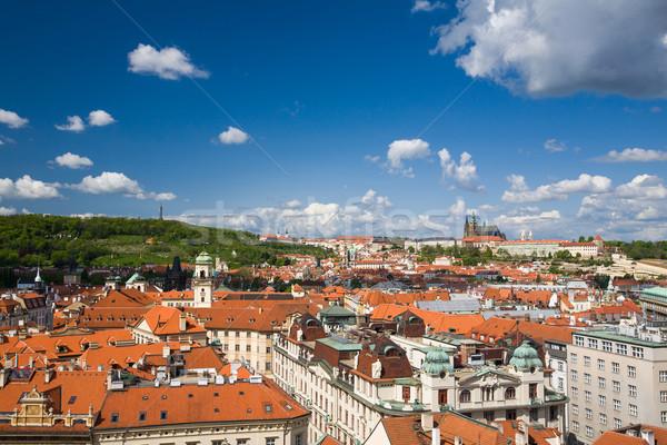 View of Prague, Czech republic Stock photo © lightpoet