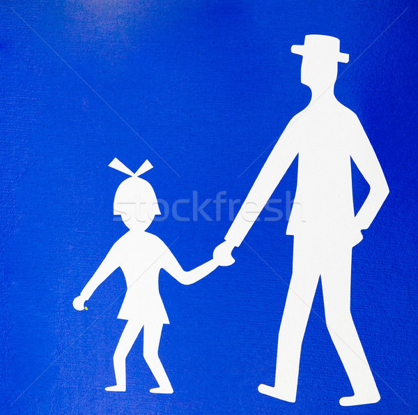 parental guidance concept Stock photo © lightpoet