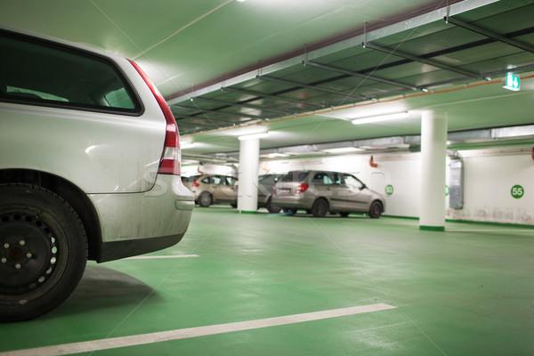 автомобилей подземных цвета изображение мелкий Сток-фото © lightpoet