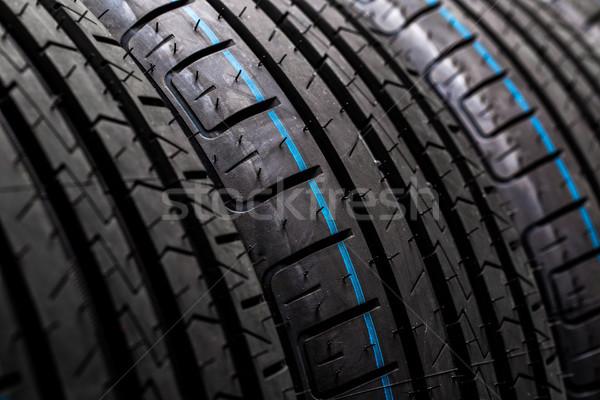 Marka yeni yüksek performans araba Stok fotoğraf © lightpoet
