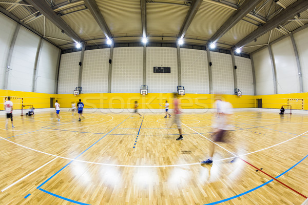 interior of a modern multifunctional gymnasium  Stock photo © lightpoet