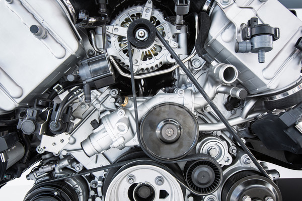 Car Engine - Modern powerful car engine motor unit Stock photo © lightpoet