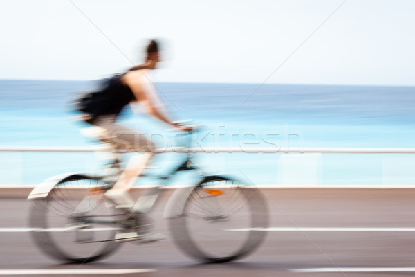 Stock photo: Great way to get around in a city
