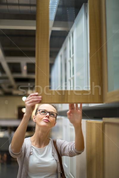 довольно право мебель квартиру Сток-фото © lightpoet
