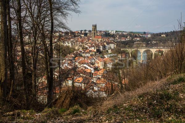 Fribourg, Switzerland Stock photo © lightpoet