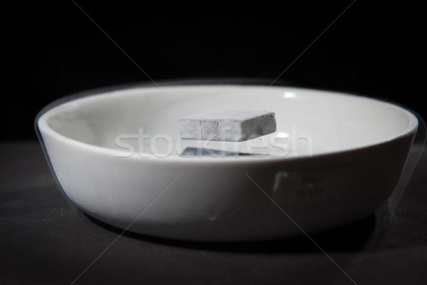 Physik Maßnahmen Experiment Materialien nach unten Flüssigkeit Stock foto © lightpoet