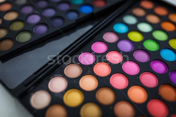Make-up eye shadows Stock photo © lightpoet