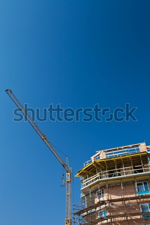 residential building construction site Stock photo © lightpoet
