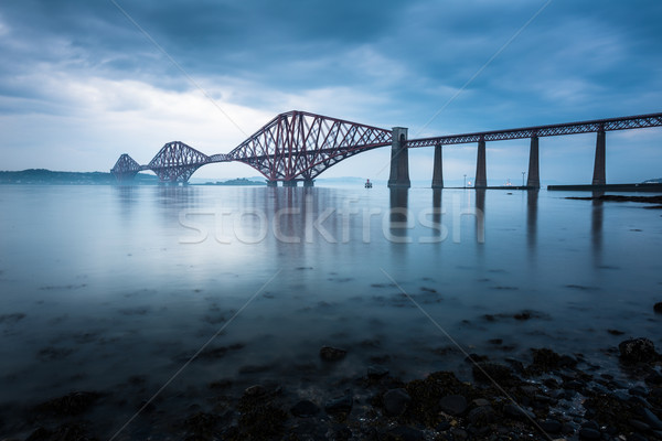 Forth bridges in Edinburgh, Scotland Stock photo © lightpoet