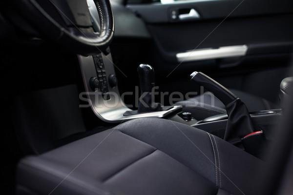 Nowoczesne samochodu wnętrza kolor obraz działalności Zdjęcia stock © lightpoet