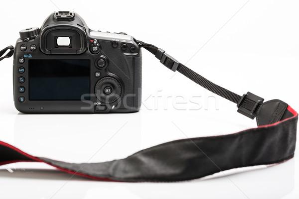 Zdjęcia stock: Zawodowych · nowoczesne · dslr · kamery · szczegół · górę