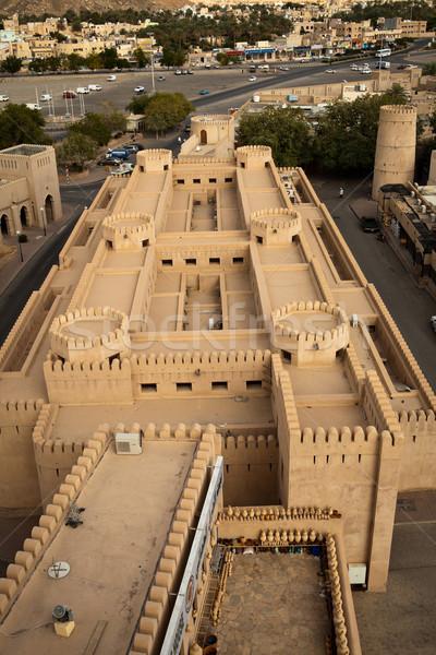 Stunning view of the Nizwa fort (Ad Dakhiliyah, Oman)  Stock photo © lightpoet