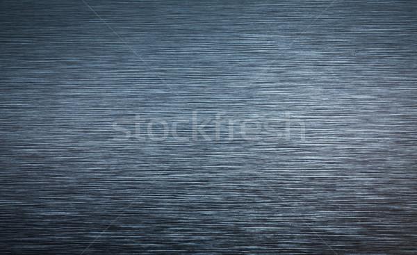 Steel/brushed aluminium/metal background Stock photo © lightpoet