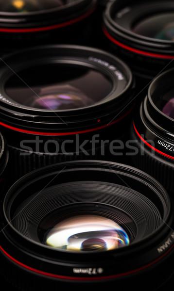 Nowoczesne kamery niski kluczowych Zdjęcia stock © lightpoet