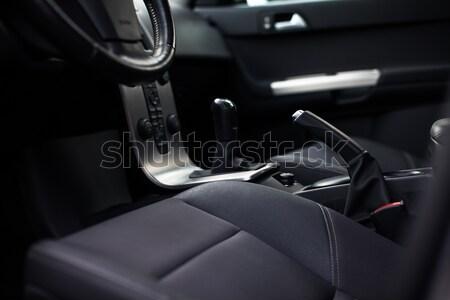 Moderne auto interieur kleur business technologie Stockfoto © lightpoet