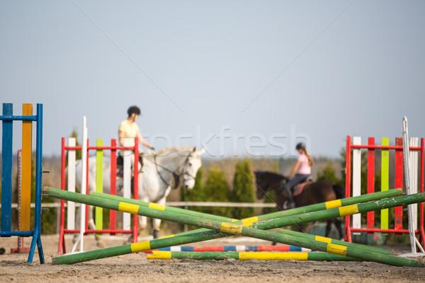 Show jumping Stock photo © lightpoet