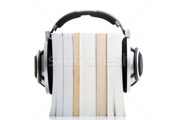 Audiobook concept - listen to your books in HD quality Stock photo © lightpoet