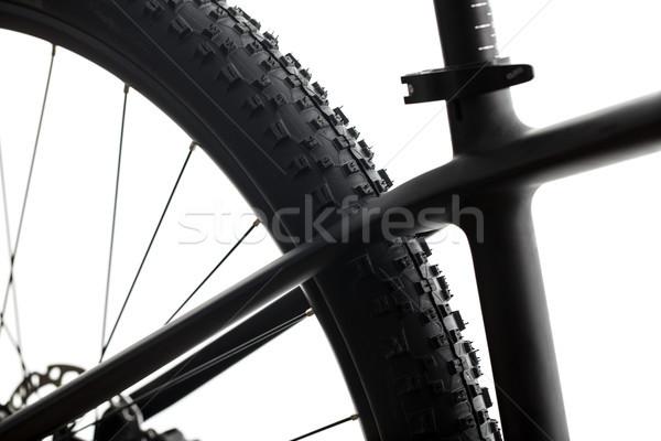 Modern MTB race mountain bike isolated on white in a studio Stock photo © lightpoet