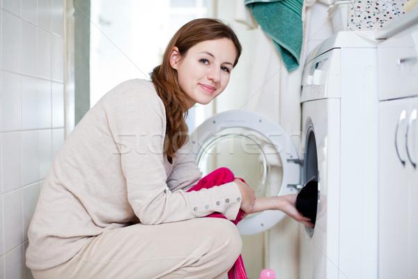 Lavori di casa lavanderia poco profondo colore Foto d'archivio © lightpoet