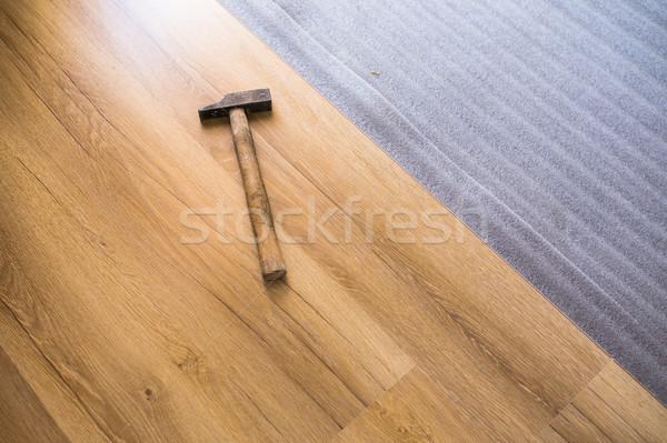 Csináld magad javítás épület otthon közelkép férfi Stock fotó © lightpoet