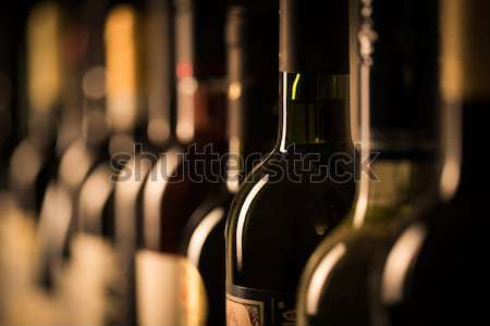 A number of wine bottles Stock photo © lightpoet