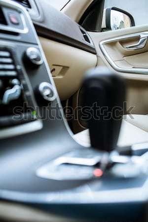 Moderne auto interieur detail business venster Stockfoto © lightpoet