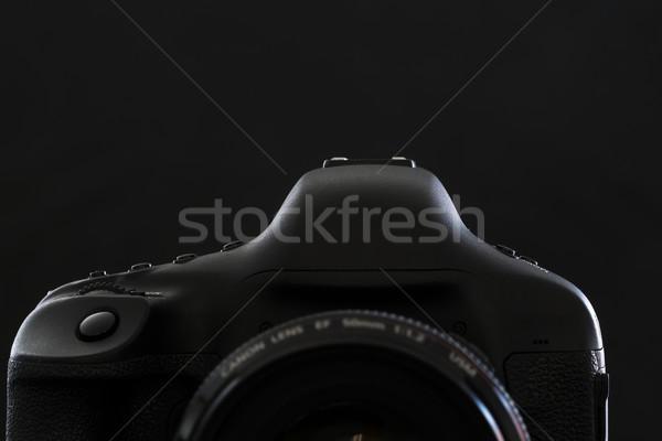 Profi modern dslr kamera alacsony kulcs Stock fotó © lightpoet