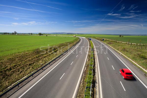 Foto d'archivio: Autostrada · traffico · sereno · estate · giorno · business