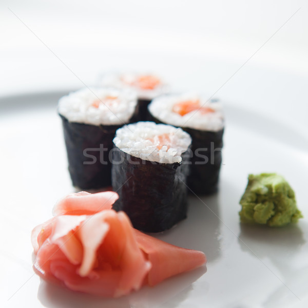 Sushi maki color imagen superficial Foto stock © lightpoet