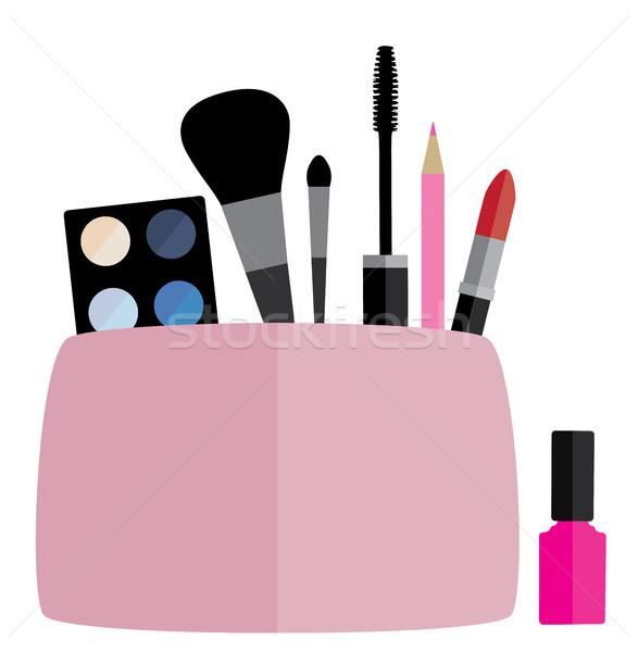Vector Make Up Bag Stock photo © lilac