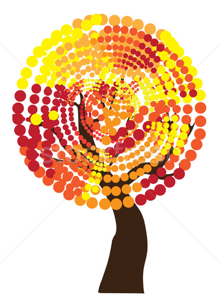 Stock photo: Fall Tree