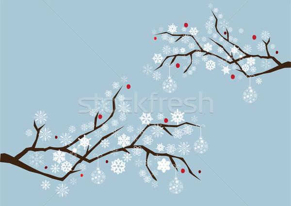 Snow Tree Stock photo © lilac