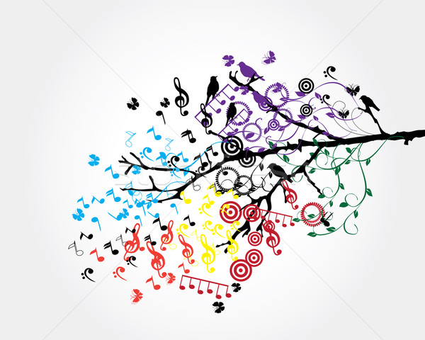 musical tree Stock photo © lilac