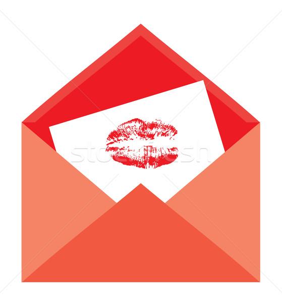 vector open envelope Stock photo © lilac