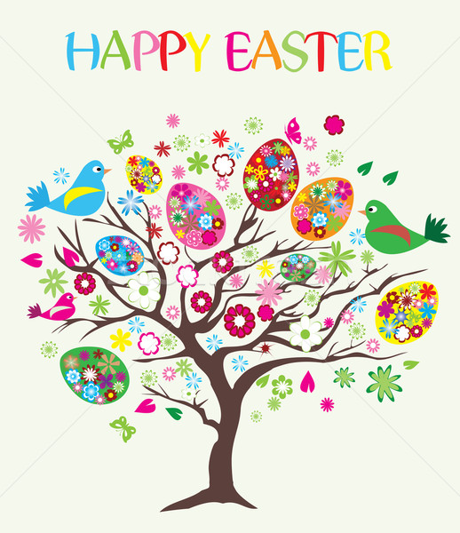Happy Easter Stock photo © lilac