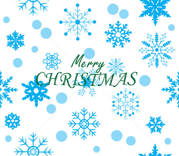 Vector Christmas Background Stock photo © lilac