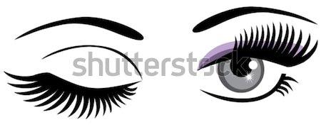 Eyes Stock photo © lilac