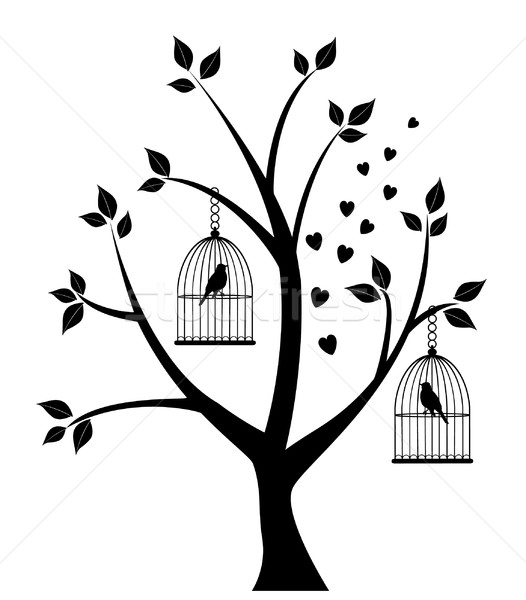 Bird Cage Stock photo © lilac