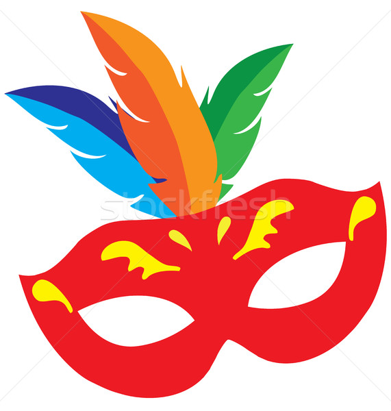 vector carnival mask Stock photo © lilac