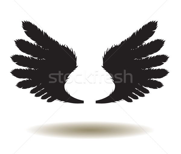 Vector Wings Icon Stock photo © lilac