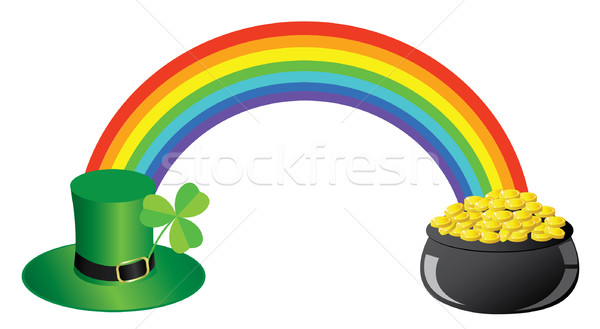 Dia vetor abstrato natureza ouro sucesso Foto stock © lilac