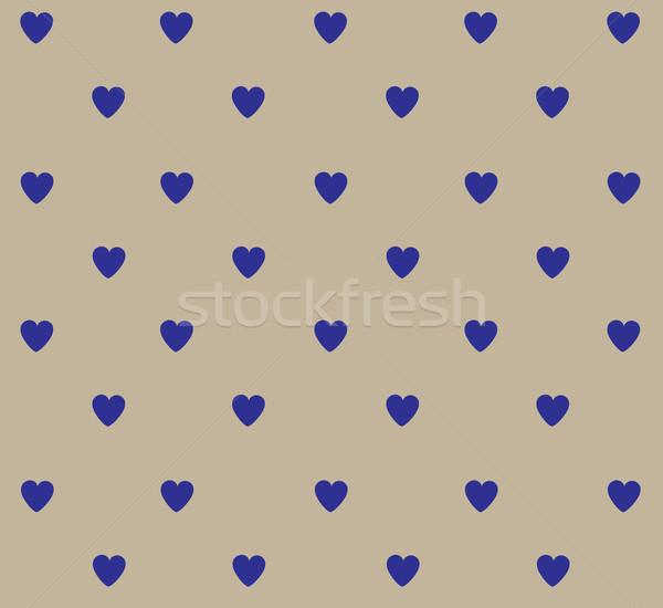 Polka dot hearts Stock photo © lilac