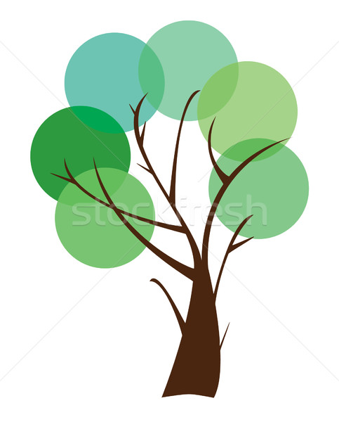 Abstract Tree Stock photo © lilac