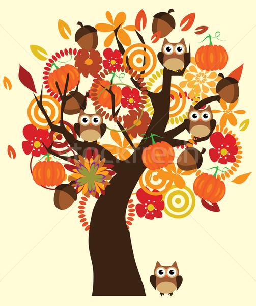 Fall Tree Stock photo © lilac