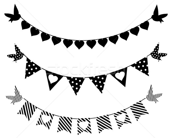 Bunting Stock photo © lilac