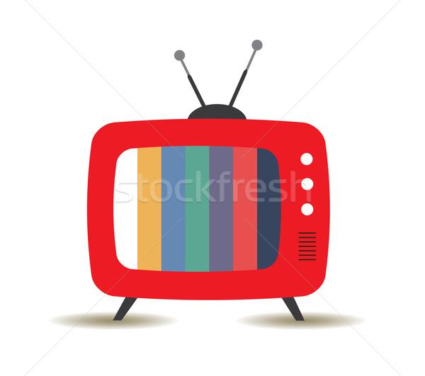 Stock photo: Retro TV