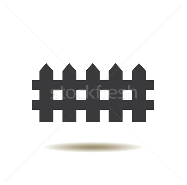 Fence Icon Stock photo © lilac