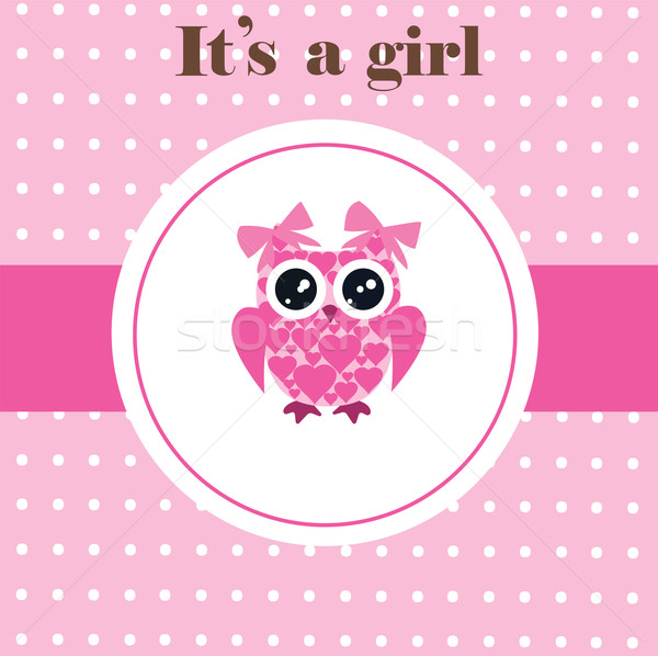 baby owl  Stock photo © lilac
